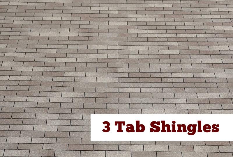 3 tab shingles
