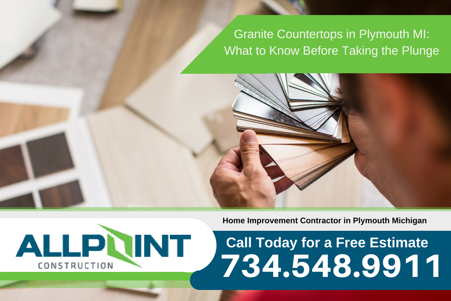 Granite Countertops in Plymouth Michigan: What to Know Before Taking the Plunge