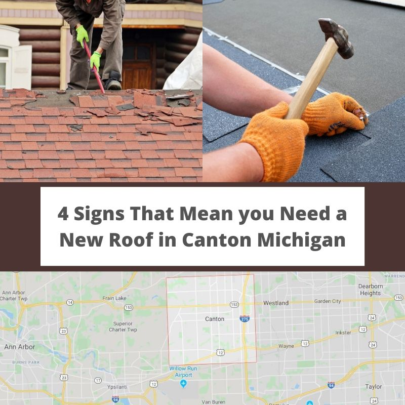 Canton MI Roof Repair