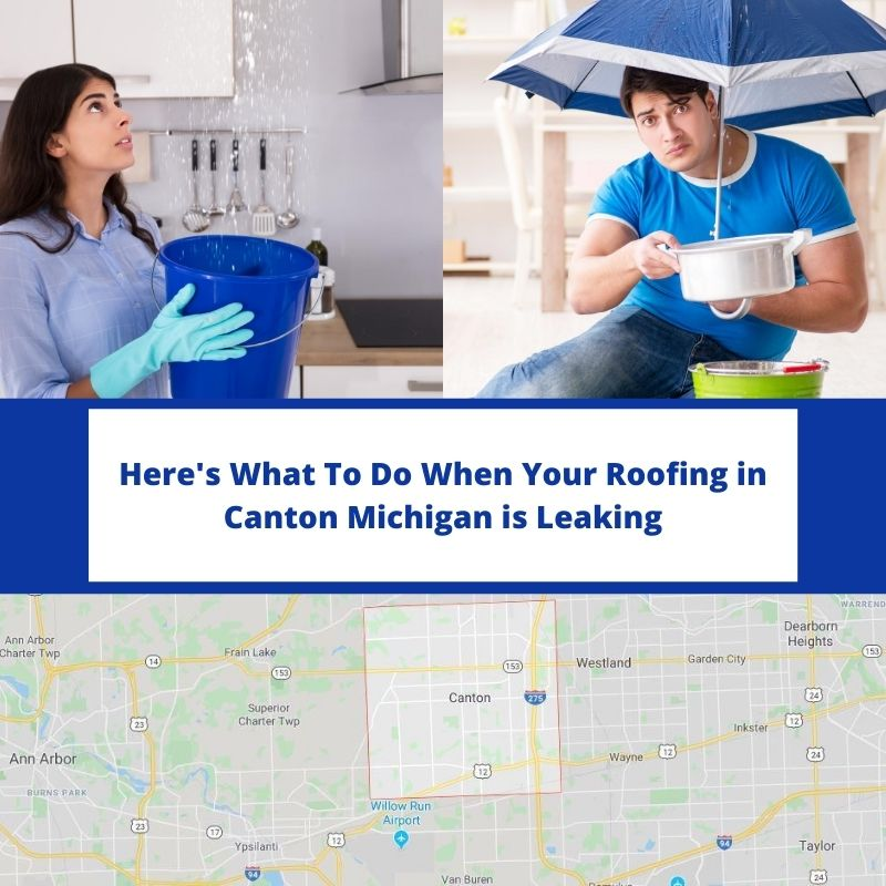 Canton MI Roof Leak